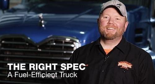 The Right Spec: A Fuel-Efficient Truck