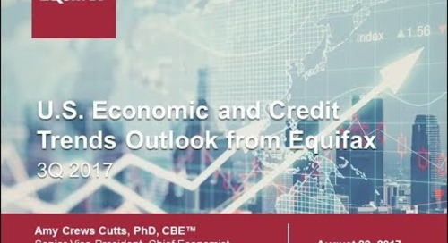 Q3 Economic and Credit Trends Outlook from Equifax