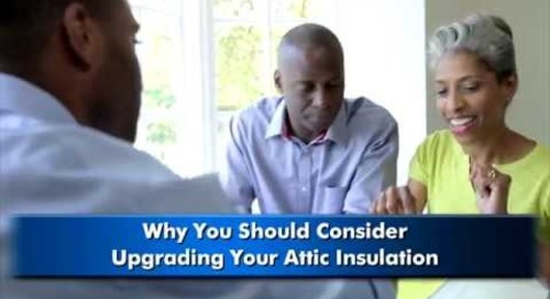 Icynene Spray Foam-Attic Insulation Video #1 http://www.icynene.com