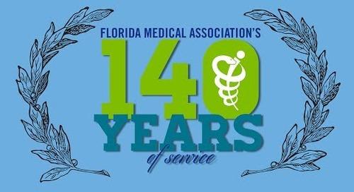 Timeline of the Florida Medical Association