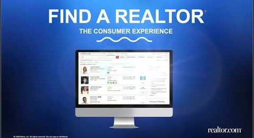 Learn How Consumers Search Find a REALTOR®