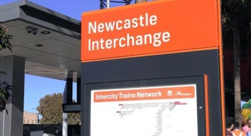 Newcastle Interchange, Australia