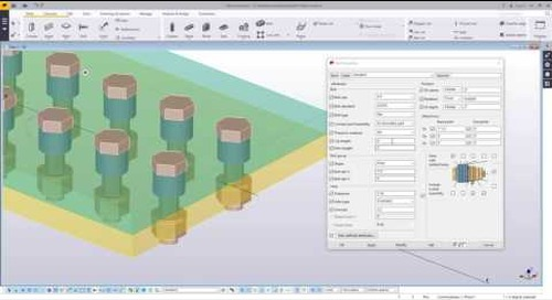 Bolting Tips in Tekla Structures - Part 2