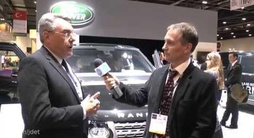 DSEI 2015: Jaguar Land Rover's armoured Range Rover – Sentinel