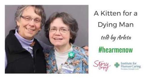 #HearMeNow: A Kitten for a Dying Man