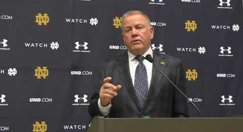 Brian Kelly Pre-USC Press Conference