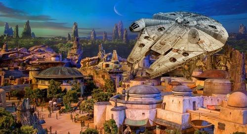 Siap-siap, Akan Dibuka Taman Star Wars Disneyland Tahun 2019!