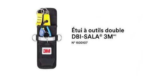 Comment utiliser l'Étui à outils double DBI-SALA® 3M correctement