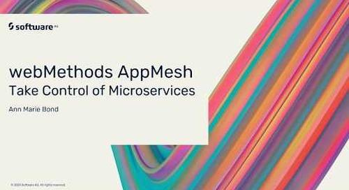Why You Need webMethods AppMesh