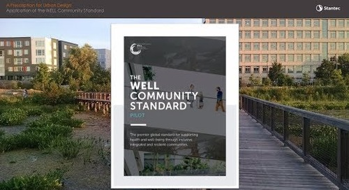 Livable Cities: Designing the World's First WELL Community