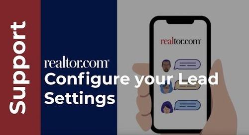 Configure your lead settings