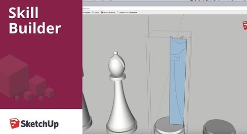 [Skill Builder] Modeling a Chess Set Part 5 - Queen