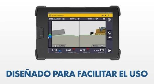 Trimble Earthworks for Dozers - UI/UX - Spanish