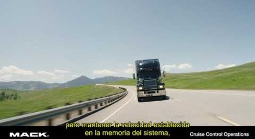 Cruise Control Operations (Spanish)