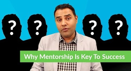 Why Mentorship Is Key To Success