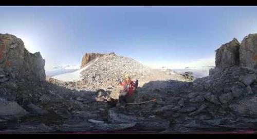 Antarctica: Plant Scientist Sandra Nogué Busch on plant pollen dispersal (360° VR)