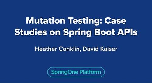 Mutation Testing: Case Studies on Spring Boot APIs