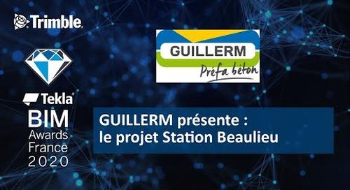 GUILLERM présente le projet Station Beaulieu