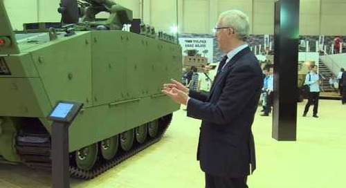 IDEF 2015 Otokar launches Tulpar-S weapons carrier