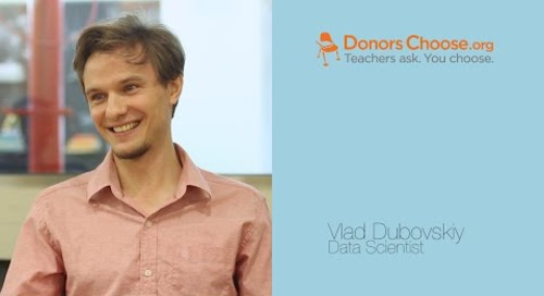 DonorsChoose on Looker