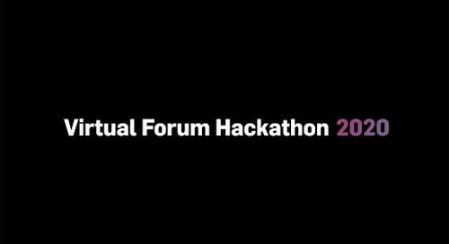 Virtual Masters Forum 2020 Hackathon Reveal