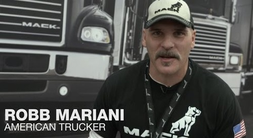 Mack at the Mid-America Trucking Show 2015 with Robb Mariani - Day 1