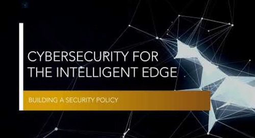 Building a Security Policy