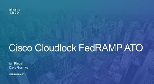 How Cisco Cloudlock Secures Government Cloud Use