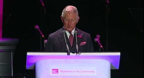 HRH The Prince of Wales at the Responsible Business Gala Dinner 2014