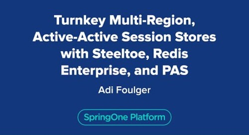 Turnkey Multi-Region, Active-Active Session Stores