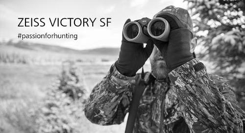ZEISS VICTORY SF hunting binoculars in the field