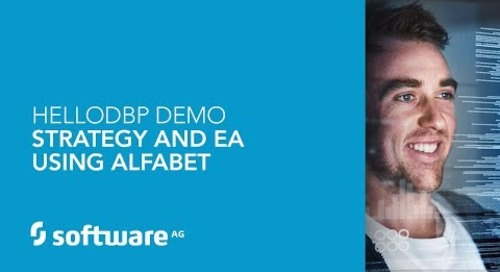 Hello DBP – Strategy & EA Using Alfabet