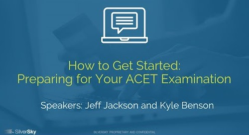 How to Get Started: Preparing for your ACET Examination