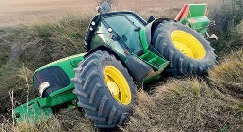 Seguridad Agrícola: Prevención de volcaduras de tractor