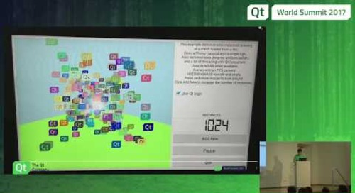 QtWS17 - Modern Graphics APIs in Qt: Vulkan and friends, Laszlo Agocs, The Qt Company
