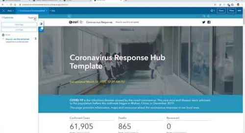 Getting Started with the Coronavirus Response Template (video)