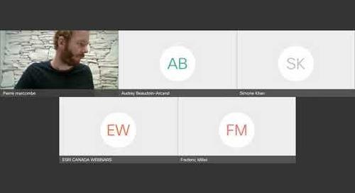 Comment les nouveautés 3D d'Esri permettent l'éclosion d'innovations chez nos utilisateurs