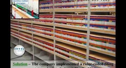 Color Coded High Density File Shelving San Antonio 210-558-6988