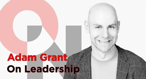 Your Challenge Network | Adam Grant | FranklinCovey clip