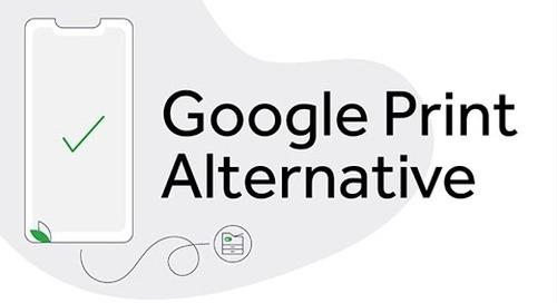 Spanish Google Cloud Print Alternative Video