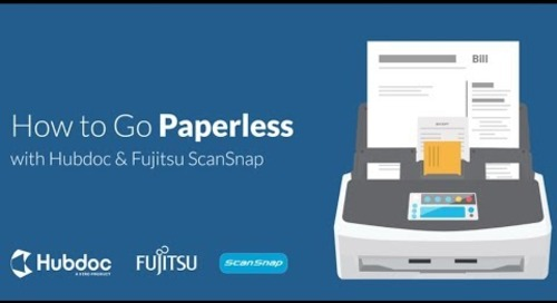 How to Go Paperless with Hubdoc and Fujitsu ScanSnap [AU]