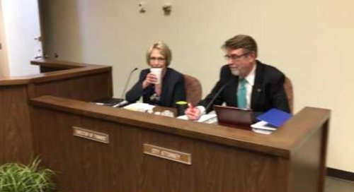 Mannequin Challenge at Roanoke City Council Meeting