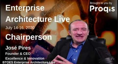 BTOES 2020 Enterprise Architecture Live