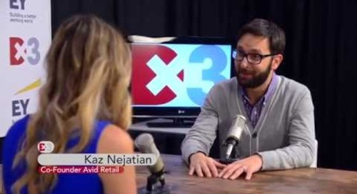 Kaz Nejatian of AvidRetail - Amber Mac Canadian Tech Spotlight at Dx3 2014