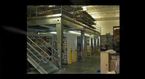 Industrial Warehouse Storage Shelving Mezzanine Racks Dallas Texas 972-250-1970