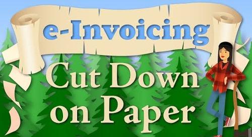 e-Invoicing: Cut Down on Paper