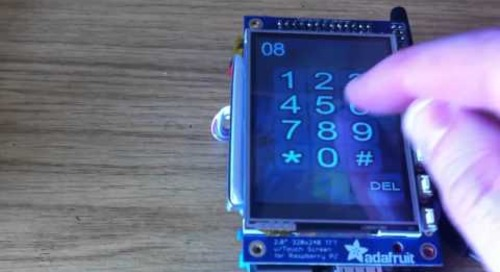 PiPhone - A Raspberry Pi based Smartphone