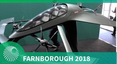 Farnborough 2018: Aston Martin Volante Vision urban air taxi concept vehicle