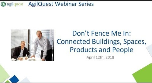 Webinar - Don't Fence Me In: Connected People, Spaces and Products