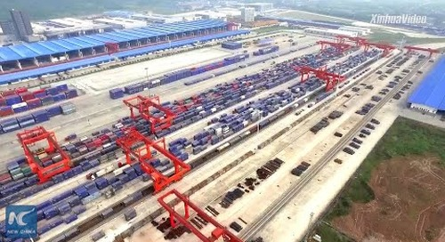Chongqing increases efficiency for land-sea freight services